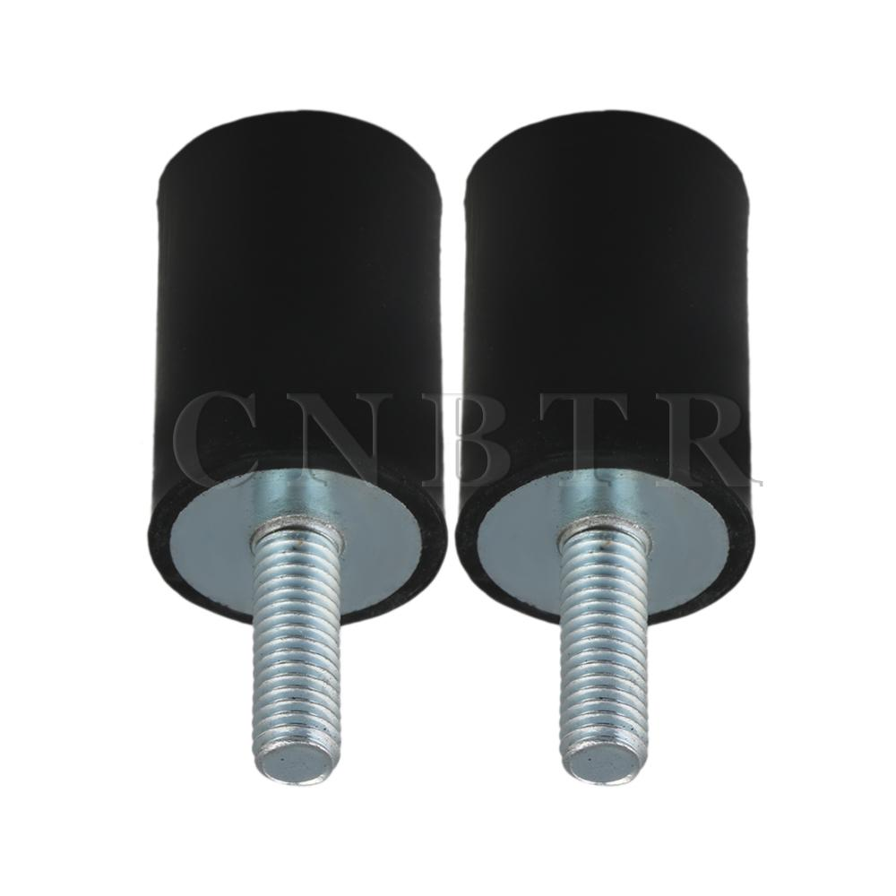 CNBTR 20x30m Rubber Vibration Isolator Mounts Damper M6x18mm Screw Pack Of 2