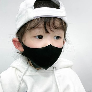 10pcs Three-dimensional thick protective mask breathable children's mask mouth mask anti dust proof flu face masks for child