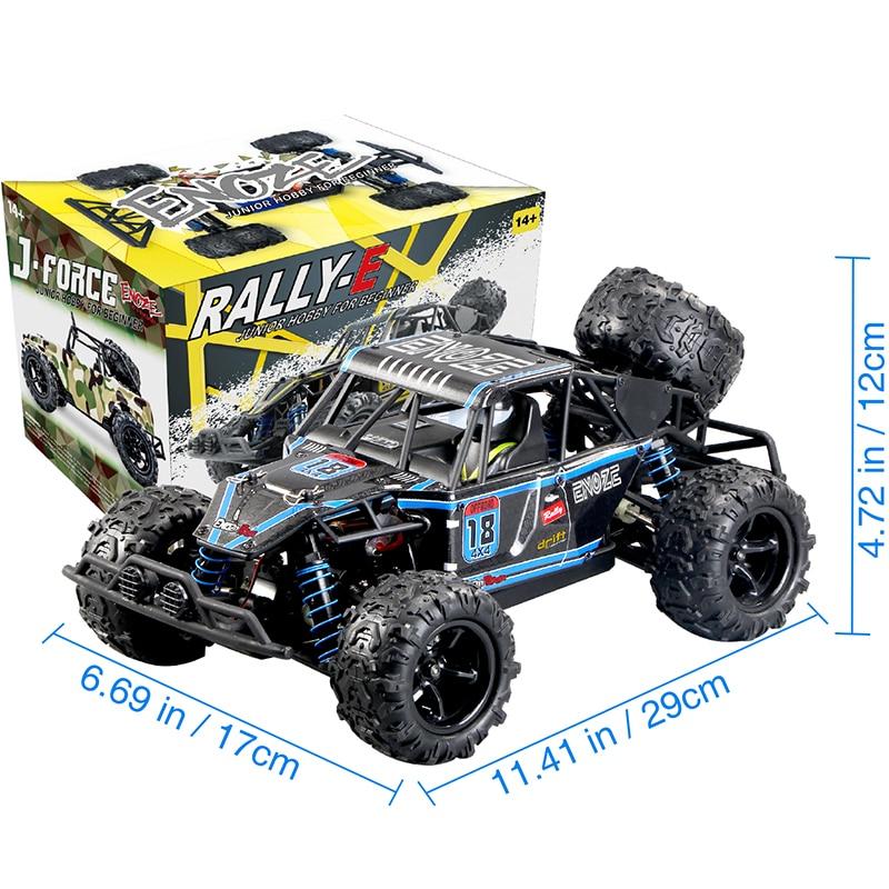 9303E 2.4G RC Auto 1//18 4WD Schnelle Geschwindigkeit Fernbedienung Geländewagen