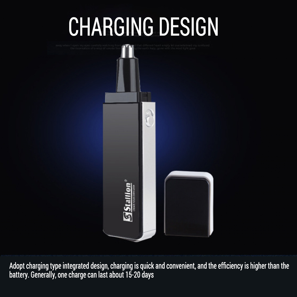4 In 1 Electric Nose Trimmer USB Rechargeable Shaver Men Face Hair Removal Beard Ear Sideburns Eyebrow Shaper Clipper