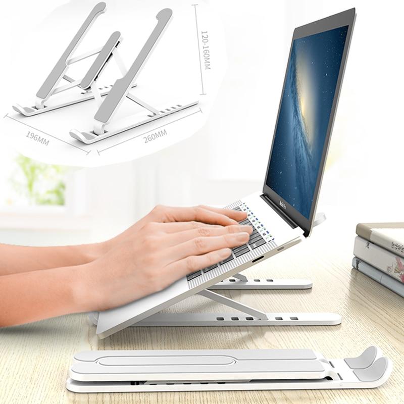 Портативный держатель для ноутбука, складная подставка для ноутбука Macbook Pro, охлаждающий кронштейн