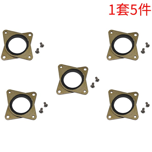 Pack of 4 Ender 3 and Other 3D Printers BIGTREETECH Direct Nema17 Damper Stepper Motor Steel and Rubber Vibration Dampers with M3 Screw for Creality CR 10 10S