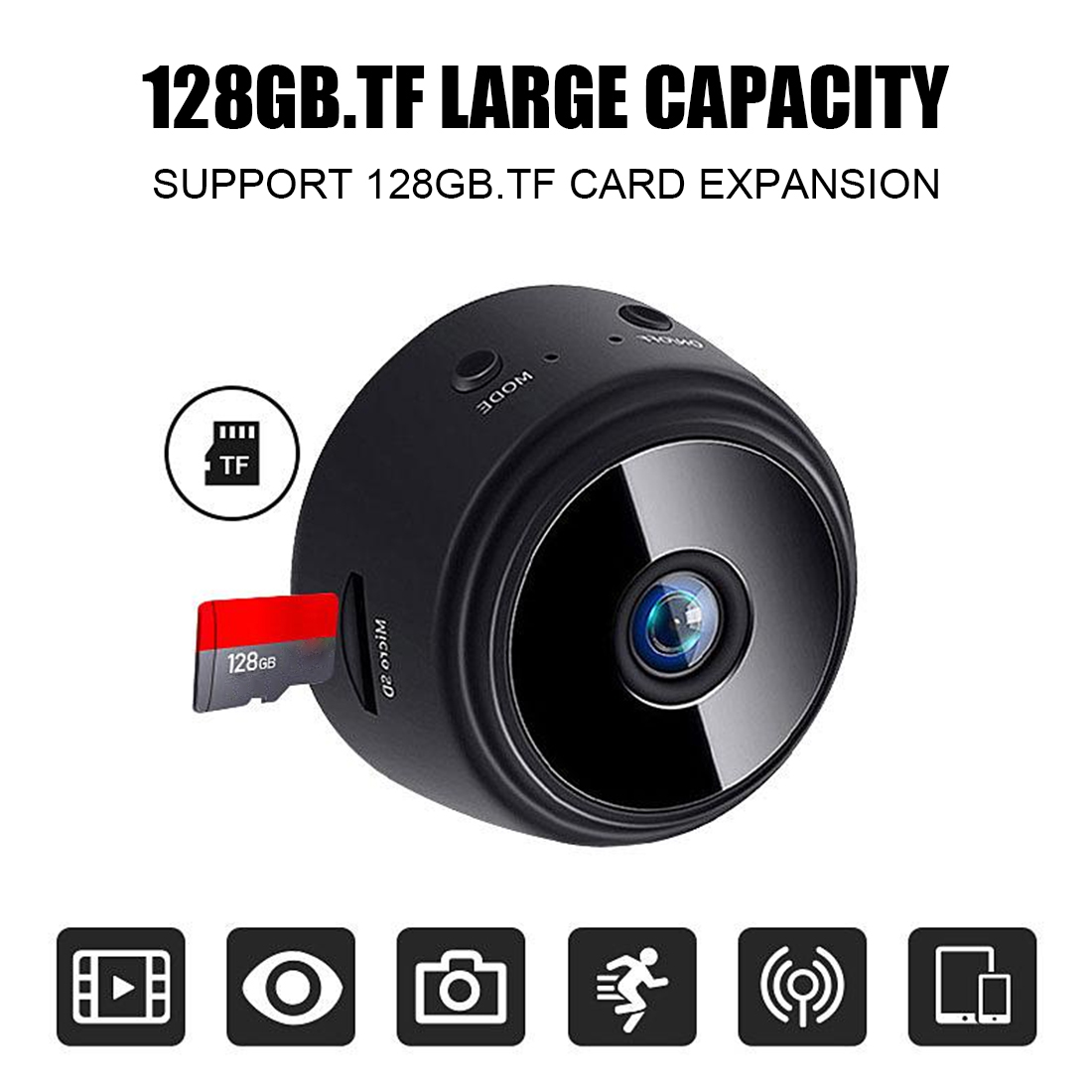 Mini Cam WIFI  A9 1080P Wifi Mini Camera  HD Night Vision Camera Home Security APP Monitor Surveillance