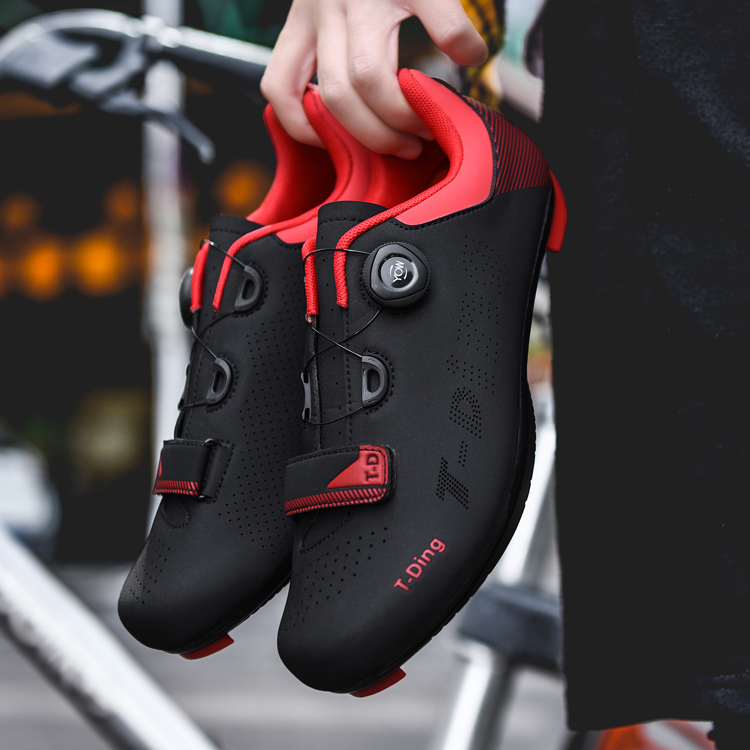 2020 new upline road cycling shoes men road bike shoes ultralight bicycle sneakers self-locking professional breathable(China)
