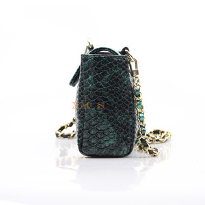 Image 3 - Женская сумка через плечо XMESSUN, модная дизайнерская сумка из кожи питона с тиснением, 2020