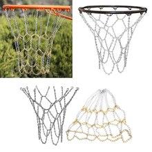 Антикоррозийная баскетбольная цепь, сверхпрочная металлическая цепь, замена Ободка для помещений и улицы