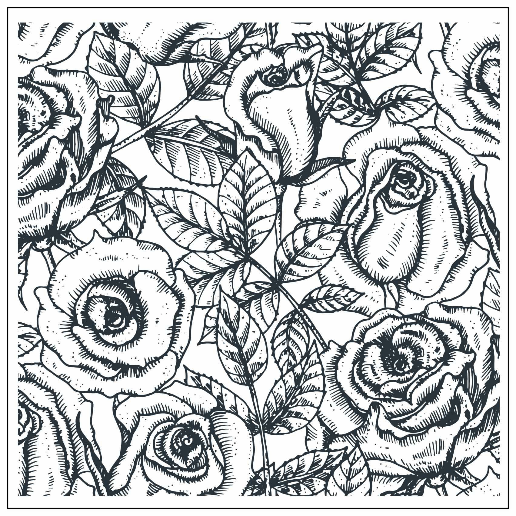 Rose Bud Flower Background Transparent Clear Stamp For DIY Scrapbooking/Card Making/Kids Christmas Fun Decoration Supplies