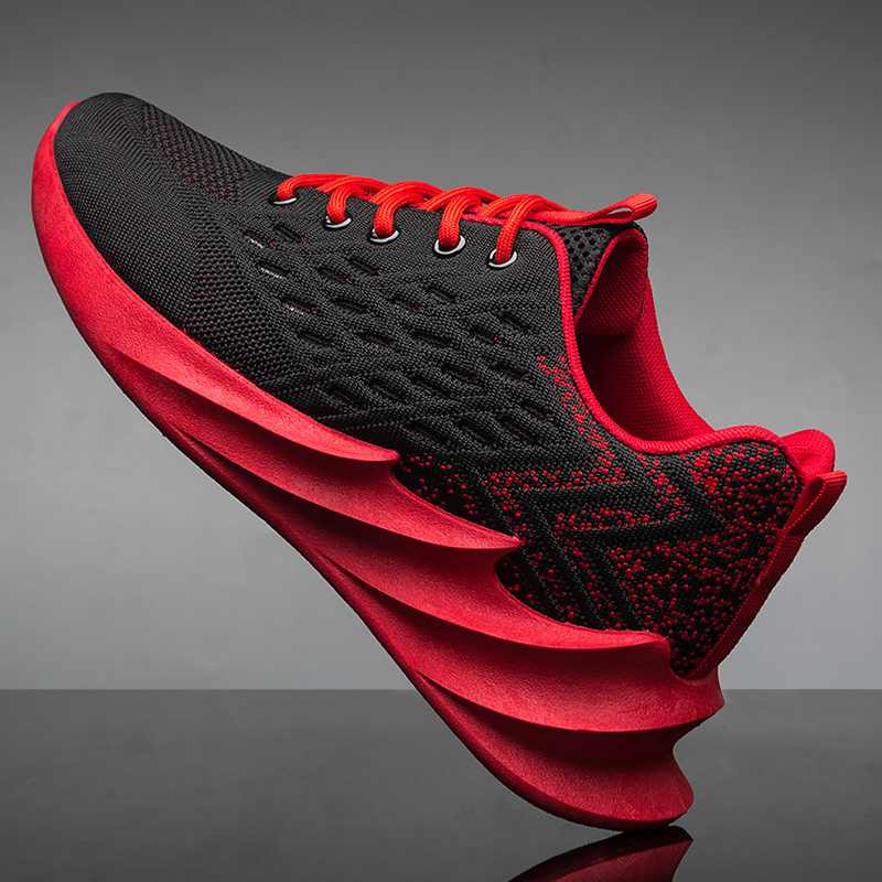 Running Shoes Men 2020 Four Seaon Air Mesh Breathable Adult Althetics Sports Shoes Men Red Blue Sneakers Men Zapatos
