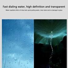 Anti Fog Rainproof Film Auto Accessories 2 Pack Rain Shield Side Window Glass Film Car