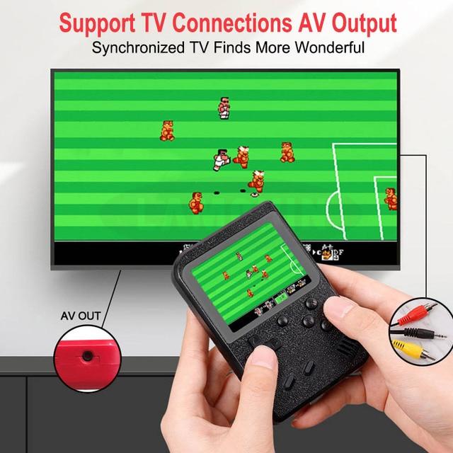 500 IN 1 Retro Video Console di Gioco Palmare Giocatore di Gioco Portatile Console di Gioco Tascabile Mini Tenuto IN Mano per il Regalo Dei Bambini 3