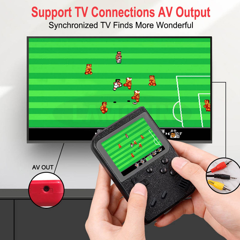 500 IN 1 Retro Video Game Console Handheld Game Portable Pocket Game Console  Mini Handheld Player for Kids Gift 2