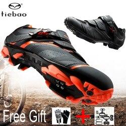 Tiebao obuwie rowerowe MTB SPD Cleat męskie oddychające buty wyścigi Zapatos De Ciclismo górskie rowerowe buty rowerowe dla kobiet Buty rowerowe Sport i rozrywka -