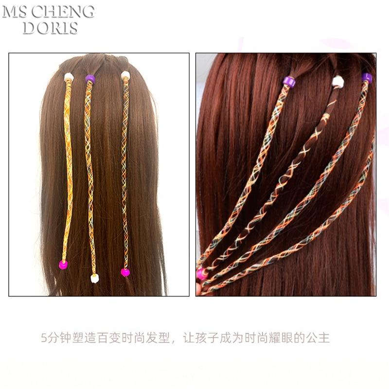 Electric Automatic Hair Braider DIY Stylish Braiding Hairstyle Tool Twist Braider Machine Hair braid Weave Roller Toys For Girl