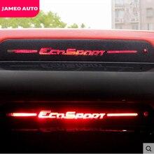 Стикеры для задних стоп-сигналов автомобиля из углеродного волокна, стикеры для Ford Ecosport 2012 2013 2014 2015 2016 2017 2018 2019 2020