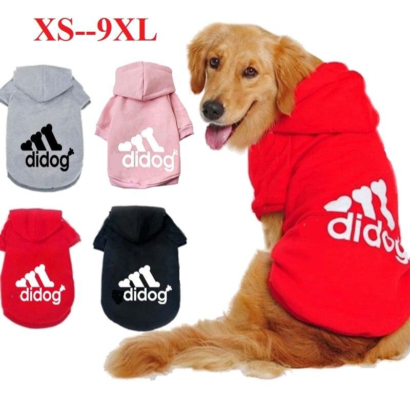 Товары для домашних животных, одежда для собак, пальто, куртка, толстовка, свитер, одежда для собак, хлопковая одежда для собак, спортивный стиль, одежда для собак-0