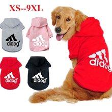 Evcil hayvan ürünleri köpek giyim ceket ceket Hoodie kazak köpekler için pamuklu giysiler köpekler spor tarzı Pet köpek giyim