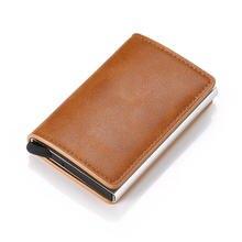 Кошелек держатель кредитных карт для мужчин и женщин металла