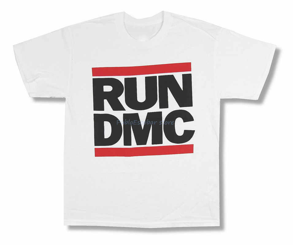 Run Dmc Klassische Logo Bild Weiß T Shirt Neue Merch Slim Fit T Shirt shubuzhi marke t-shirt männer sommer t-shirt männlichen tops