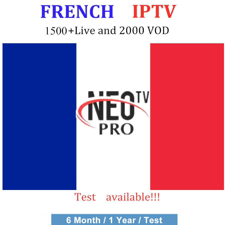 French IPTV subscription NEO tv pro 1500 Live IPTV France Arabic IPTV Belgium USA Europe IPTV m3u android 1Year tv box free test