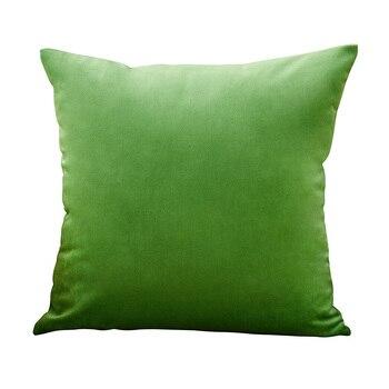 Housse de coussin vert pomme – 4 tailles au choix