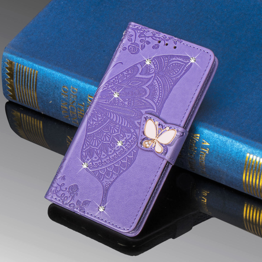 Redmi Note 8 Pro 8T Butterfly Flower <font><b>Flip</b></font> Leather <font><b>Case</b></font> For <font><b>Xiaomi</b></font> A3 <font><b>Mi</b></font> Note 10 Go 8A Redmi <font><b>9</b></font> Note 7 6 5 Pro <font><b>Wallet</b></font> Phone Cover image