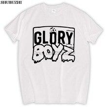 Glory boyz hip hop rap música chefe keef masculino algodão camiseta sbz5287