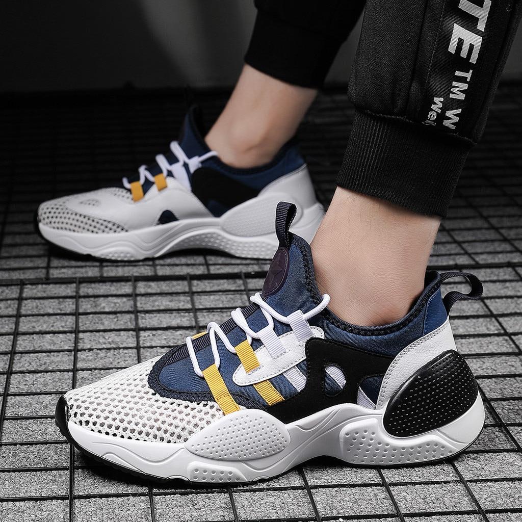 Мужские повседневные кроссовки; мужские кроссовки; ультралегкие дышащие кроссовки для бега и прогулок; Повседневная обувь; # G4