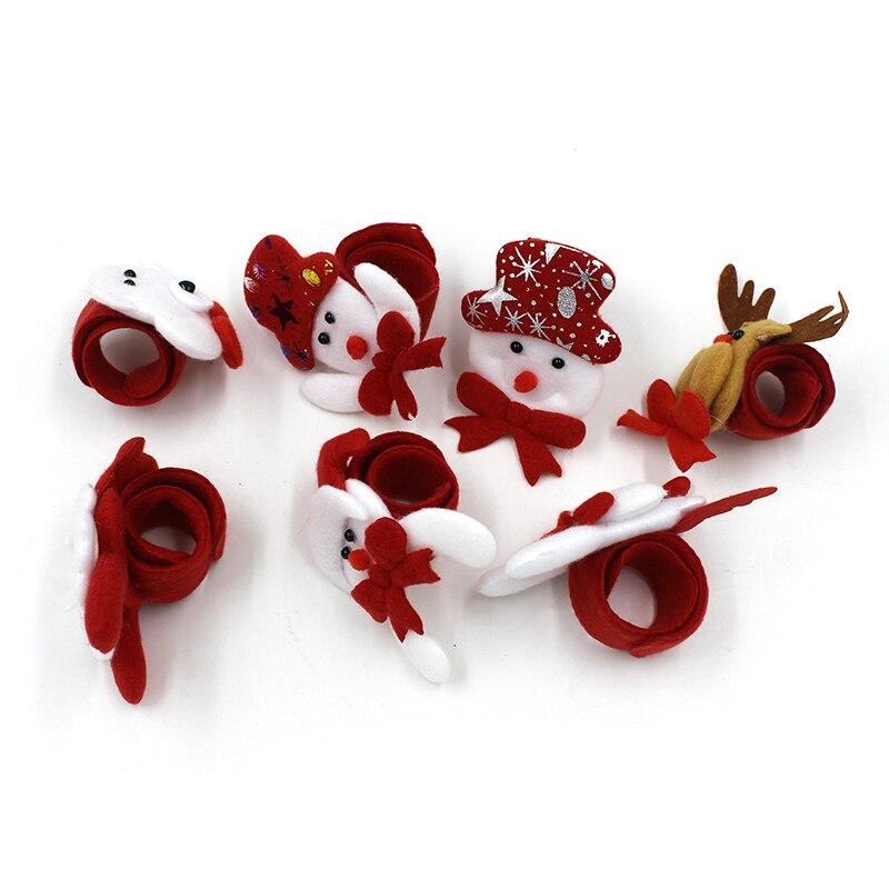 1PCS-Christmas-Decorations-Christmas-Patting-Circle-Christmas-Children-Gift-Santa-Claus-Snowman-Deer-New-Year-Party (3)