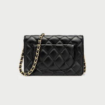 Luxury Designer Quilted Shoulder Bag Elegant Vintage Chain Mini Flap Crossbody Handbag for Office Lady&Girls Fashion