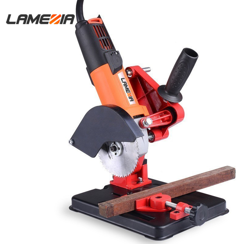 Multifunctional Angle Grinder Drill Stand Fixed Bracket Holder Cutting Plumbing Machine Hand Power Tool Part Accessory
