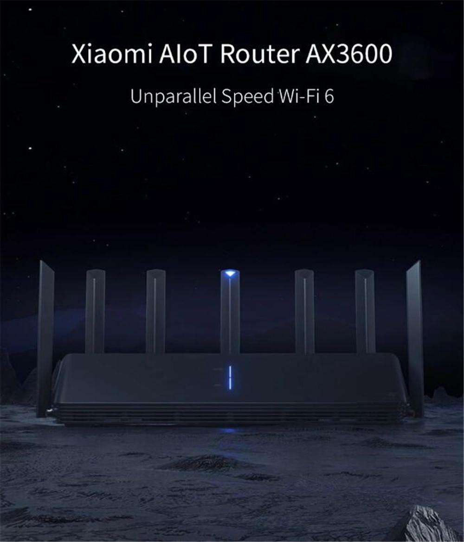 NEW Xiaomi AX3600 AIoT Router Wifi 6 5G Wifi6 600Mb Dual-Band 2976Mbs Gigabit Rate Qualcomm A53 External Signal Amplifier (18)
