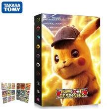 Album de cartes Pokemon, 9 pochettes, 432 pièces, livre de détective Pikachu, carte de jeu, liste chargée, support VMAX, Collection de jouets pour enfants, cadeau