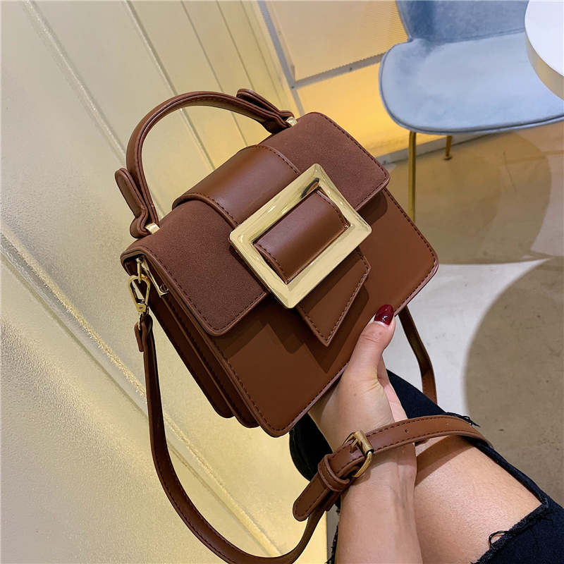 Famous Brand Bags For Women Luxury Handbags Women Bags Designer White Black Beige Khaki Female Leather Crossbody Shoulder Bags in Top Handle Bags from Luggage Bags