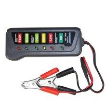 12V Universal Car Motorcycle  Tester Fault Detector Battery Tester Digital Alternator Tester Car Diagnostic Tool Auto Repair