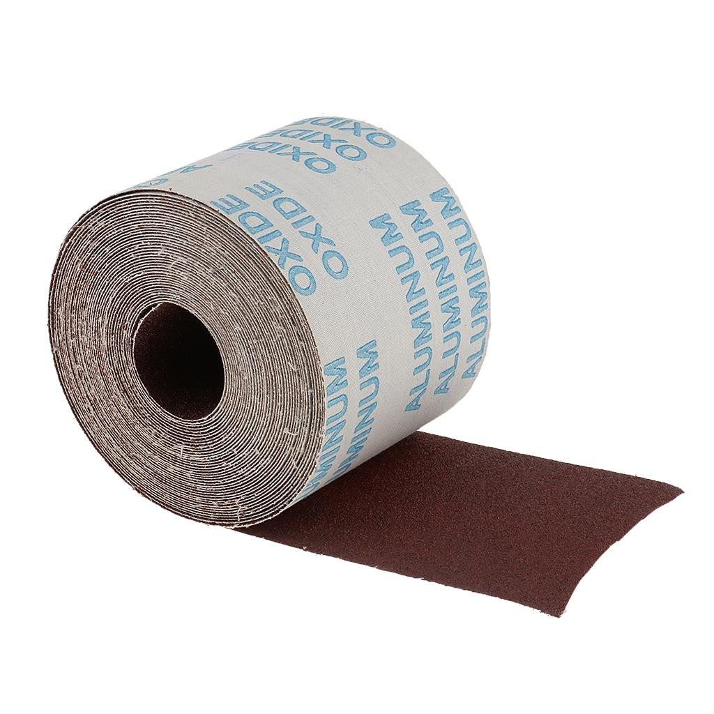 80 Grit 10meter Emery Cloth Abrasive Paper Sandpaper Roll Metal Working