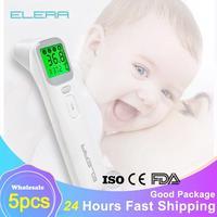 Termómetro Digital infrarrojo LCD para bebés, medidor corporal sin contacto, venta al por mayor, para niños y adultos