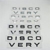 Para Land Rover Discovery Esporte Capô Dianteiro Emblema Logotipo Decalques Letras Crachá Placa de Identificação Adesivos|Adesivos para carro| |  -