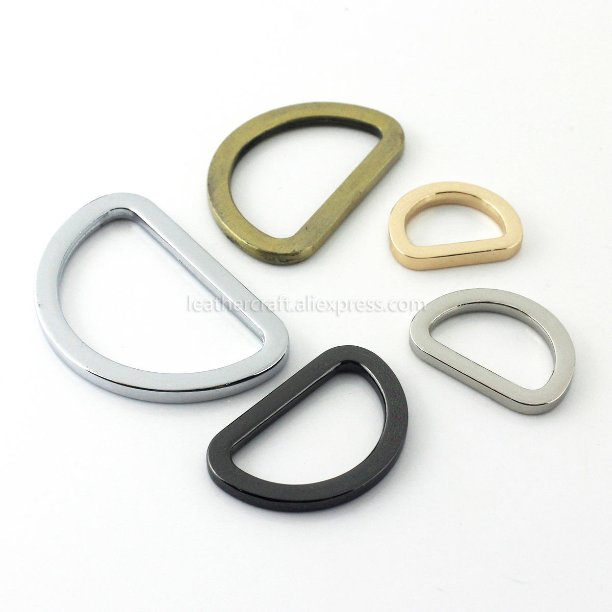 10 x 20mm antique finish metal buckle bag shoe corset leather craft belt strap{=