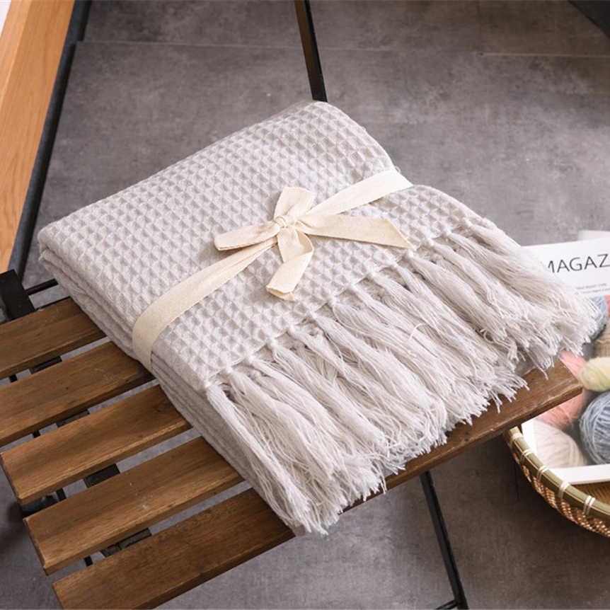 محبوك بطانية صوف بلون الهراء تنقش بطانية الشمال الزخرفية بطانية ل أريكة سرير رمي Towell الرأس الوردي بطانية