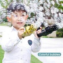 2021 New Gatling Bubble Gun Bubble Machine Bath Toys Baby Toys Bath Toys Kids Toys for Kids Toys Wholesale Bubbles for Kids