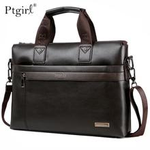 Fashion Simple Dot Famous Brand Business Men Briefcase Bag P