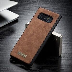 Image 5 - Cassa del Cuoio genuino per Samsung S20 Ultra S10 S9 S8 Nota 20 10 Più Del Raccoglitore Della Copertura per il iPhone SE 2020 11 Pro XS Max XR X 7 8 Caso