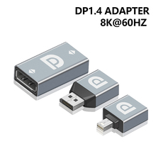 HD DP וידאו ממיר DP1.4 כדי DP נקבה מיני DP מתאם תמיכה 8K @ 60Hz עבור מחשב נייד מחשב צג בית מקרן