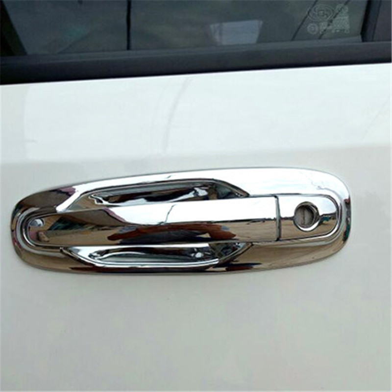 For Chevrolet Optra Lacetti Daewoo Nubira 2005-2016 Car Styling Chrome Exterior Door Handle Cover Door Handle Bowl Trim(China)