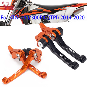 250 300 EXC TPI 2020 CNC Motorcycle DirtBike Motocross Pivot Brake Clutch Levers For KTM 250EXC TPI 300EXC TPI EXC motocross motorcycle for ktm 300exc 300 exc 2005 2006 2013 2014 2018 motorcycle pit pivot dirt bike brake clutch levers handle