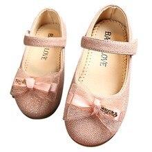 Для маленьких девочек; милая кожаная обувь для младенцев на лето для девочек, для балета обувь на плоской подошве Шнуровка с бантиком для девочек; платье принцессы, обувь с мягкой подошвой
