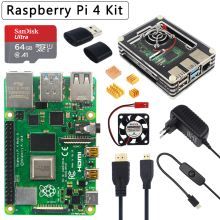 Raspberry Pi 4 Model B 2/4/8Gb Ram Optie 32Gb Sd-kaart | Case | power Adapter | Hdmi-Compatibele Kabel Voor Raspberry Pi 4