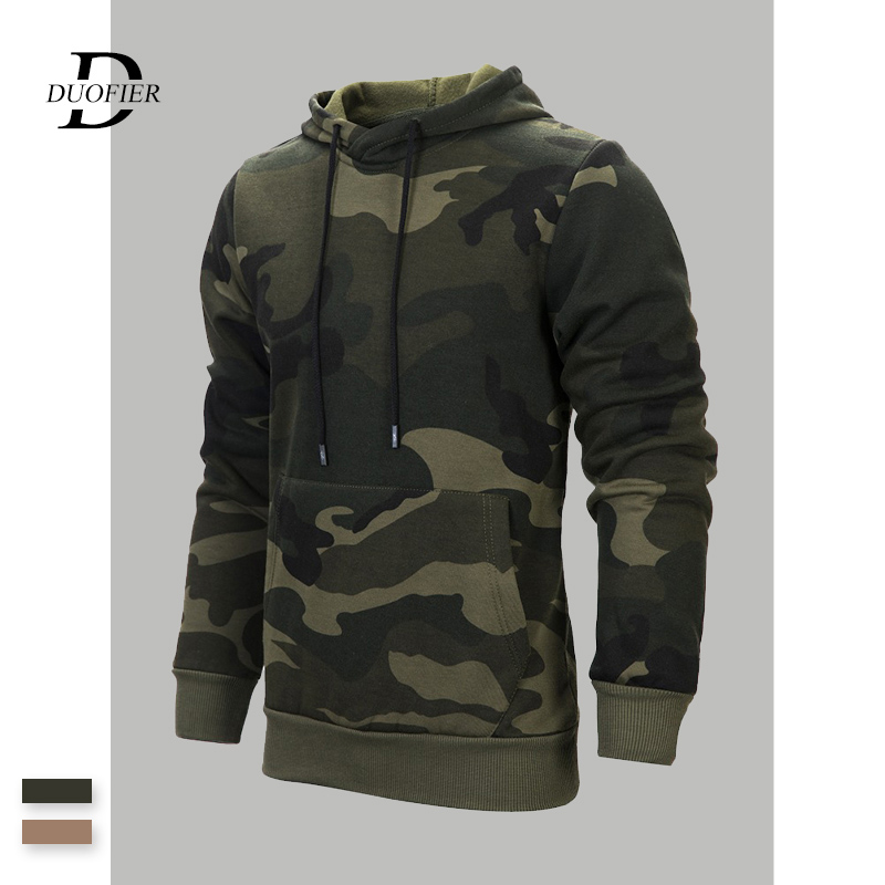 New Men/'s Camo Camouflage Hoody Pullover Jacket Hoodie Sweatshirt Hooded