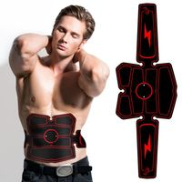 High Quality Muscle Stimulator Waist Belt Portable USB Rechargeable Fitness Machine Abdominal Training Device Body Building Tool