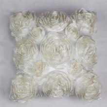 Size rose embroidery pillowcase wedding supplies pillowcase